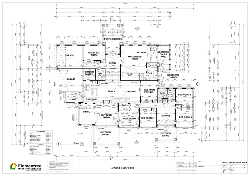 Working Drawings Elementree Drafting Services