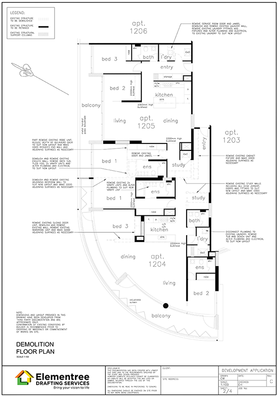 working-drawing-4-demolition-floor-plan